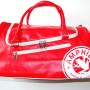 Evo Bag in Red & White