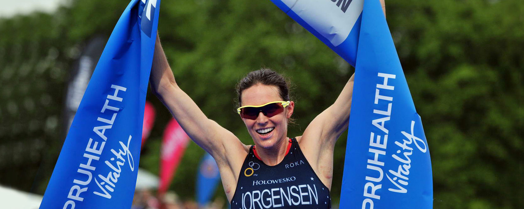 Gwen Jorgensen – World Champion Triathlete 2014